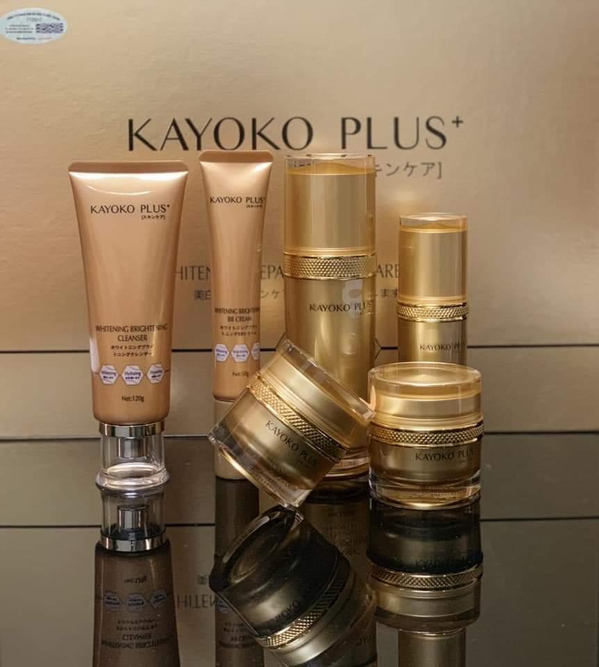 Bộ Mỹ Phẩm Kayoko Plus+ Vàng 6in1 Mới – Nhật bản